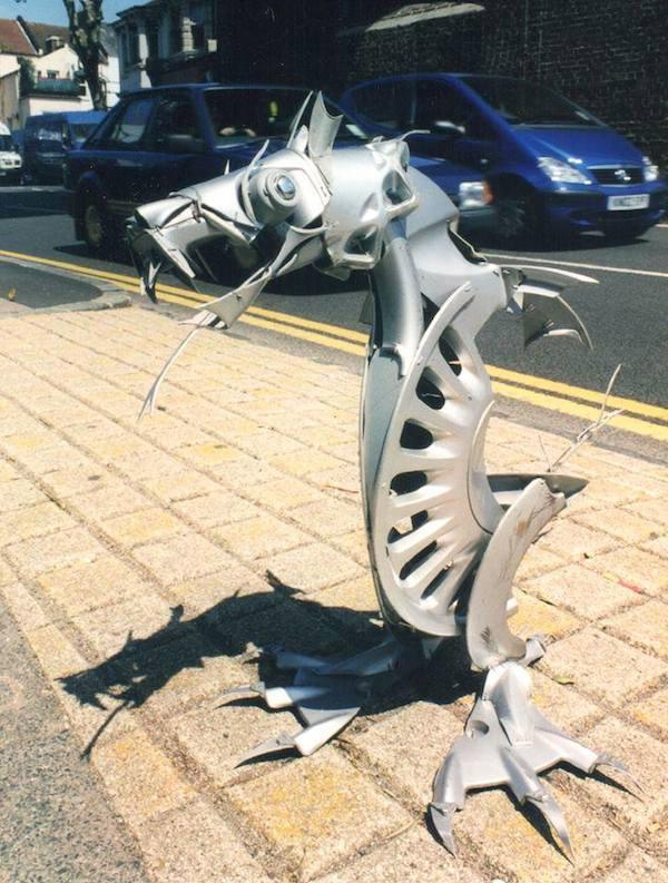 hubcaps dragon