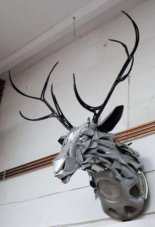 stag hubcaps