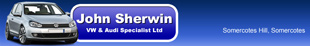 John Sherwin VW and Audi Specialist Ltd logo