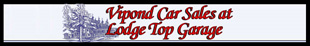 Vipond Car Sales at Lodge Top Garage logo